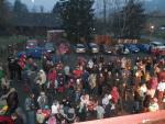 Rozsvícení vánočního stromu ve Veselé 2. prosince 2012