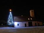 Fotografie našeho krásného vánočního stromku 7. prosince 2012
