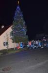 Rozsvícení vánočního stromu 29. listopadu 2015