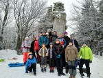 Zimní tábor - Prostřední Bečva 28. února - 2. března 2019